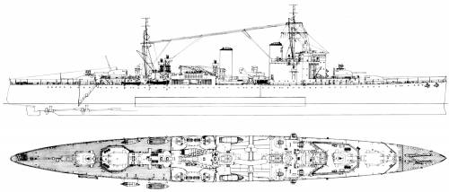 HMS London (1941)