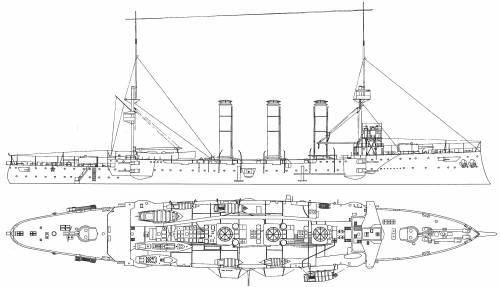HMS Monmouth (Armoured Cruiser) (1903)