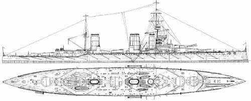 HMS Princess Royal (Battlecruiser) (1912)
