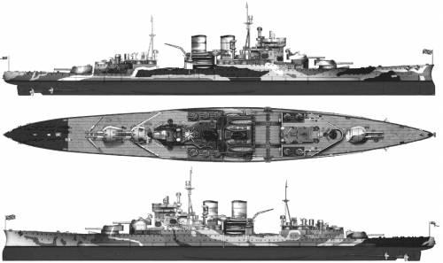 HMS Renown (Battlecruiser) (1942)