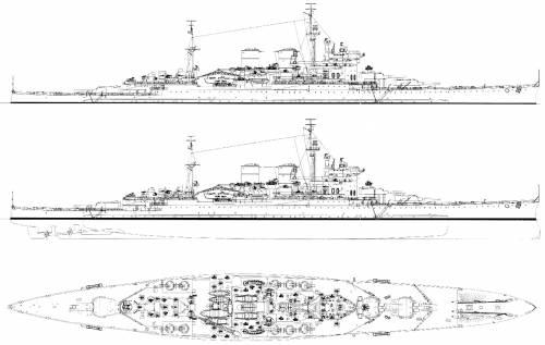 HMS Renown (Battlecruiser) (1944)