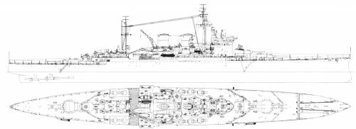 HMS Renown (Batttlecruiser) (1944)
