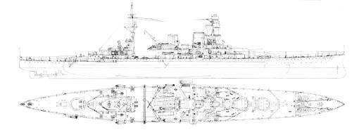 HMS Repulse (Batttlecruiser) (1938)