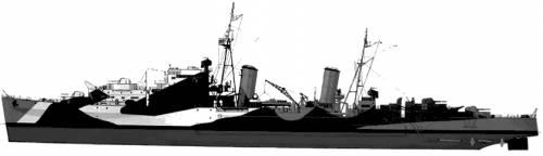 HMS Scylla (1942)