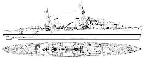 HMS Scylla [Light Cruiser]