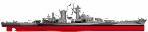 USS CB-2 Guam (Battlecruiser)