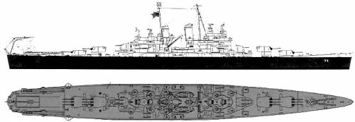 USS CL-55 Cleveland