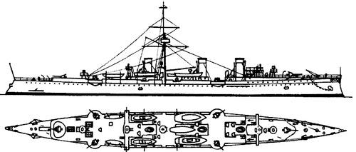 Novik 1904 [Protected Cruiser]