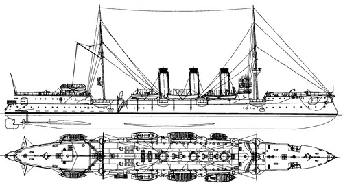 Boyarin 1901 [Protected Cruiser]