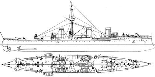 Novik 1900 [Protected Cruiser]