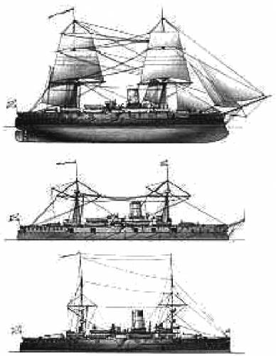 Russia Admiral Nakimov (Armored Cruiser)