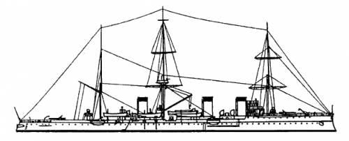 Russia Izumrud (Protected cruiser) (1904)