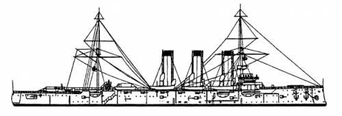 Russia Pallada (Protected Cruiser)