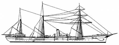 Russia Zabyaka (Second Class Cruiser) (1904)