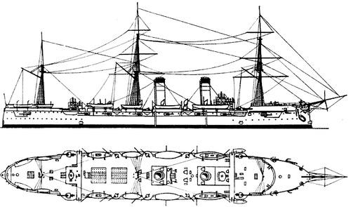 Ryueik 1904 [Protected Cruiser]