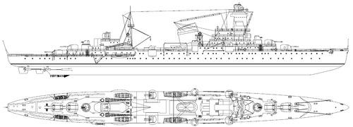 USSR Admiral Butakov 1917 [ Light Cruiser]