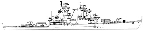 USSR Admiral Golovko 1988 [Cruiser]