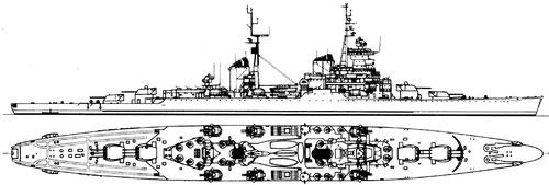 USSR Admiral Lazarev [Sverdlov-class Cruiser]