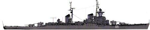 USSR Admiral Senyavin [Sverdlov Class Cruiser]