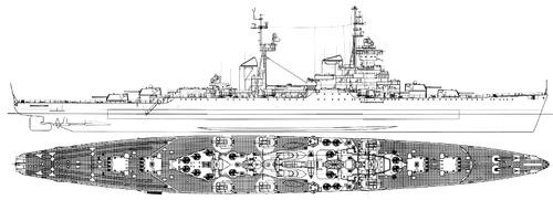 USSR Dmitry Pozharski 1960 [Sverdlov Class Cruiser]