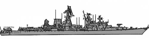 USSR Kara class Cruiser