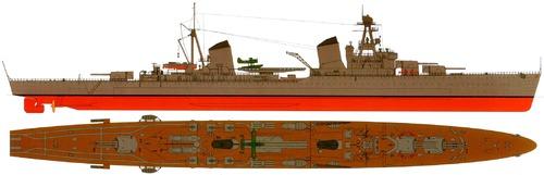 USSR Kirov 1941 ]Project 26 Heavy Cruiser ]