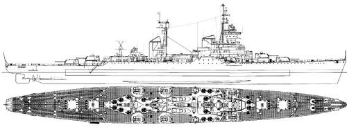 USSR Murmansk 1968 [Sverdlov Class Cruiser]