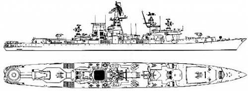 USSR Ochakov (Kara class Cruiser)
