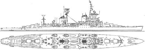 USSR - Oktyabrskaya Revolutsia 1968 [Sverdlov-class Cruiser]