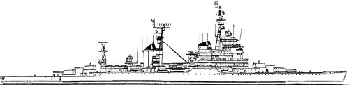 USSR Oktyabrskaya Revolutsia 1971 [Sverdlov-class Cruiser]