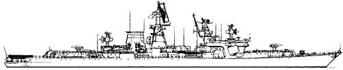 USSR Project 1134B Berkut B Kara-class Cruiser