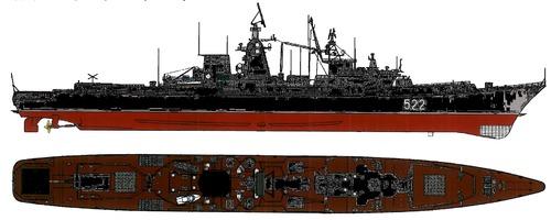 USSR Project 1134B Ochakov Berkut B Kara-class Cruiser