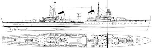 USSR Project 26 Kalinin 1958 [Heavy Cruiser]
