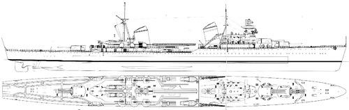 USSR Project 26 Maxim Gorky 1941 [Heavy Cruiser]
