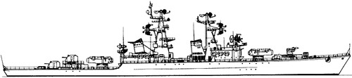 USSR Project 58 Grozny Kynda-class Guided Missile Cruiser
