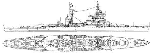 USSR Project 68bis Sverdlov-class Light Cruiser