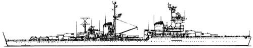 USSR Project 68K Chapayev-class Light Cruiser