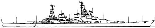 USSR Project 82 Stalingrad Heavy Cruiser