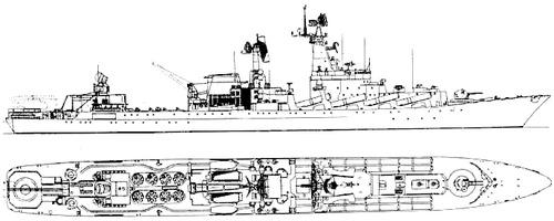 USSR Slava [Project 1164 Atlant class Cruiser]