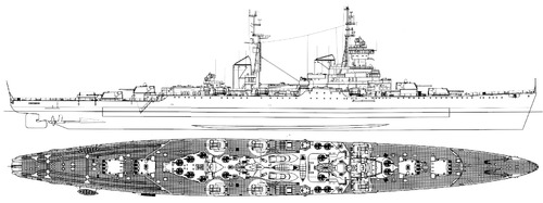 USSR Sverdlov 1952 [Sverdlov Class Cruiser]