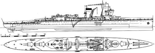 Hr.Ms. De Ruyter 1935 (Light Cruiser)