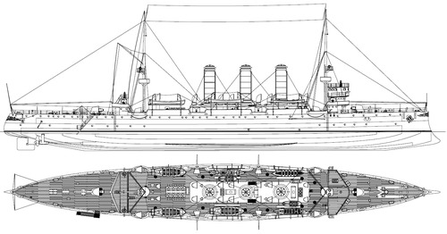 TCG Hamidiye 1903 (Light Cruiser[)
