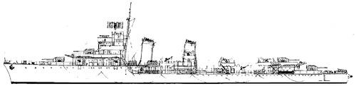DKM TA-32 [ex RN Premuda, ex JRM Dubrovnik Destroyer]
