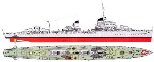 DKM Z11 Bernd von Arnim [Destroyer]