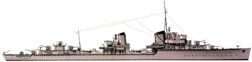 DKM Z15 Erich Steinbrinck 1944 (Destroyer)