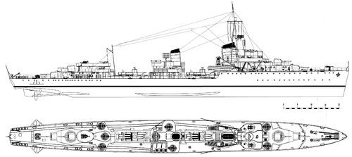 DKM Z15 Erich Steinbrinck 1945 (Destroyer)