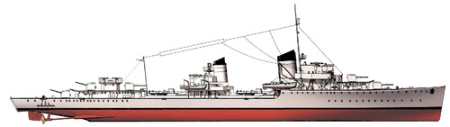 DKM Z1 Leberecht Maass 1939 (Destroyer)