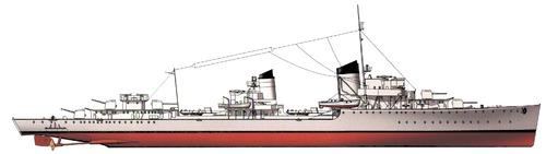 DKM Z1 Leberecht Maass 1939 (Destroyer)
