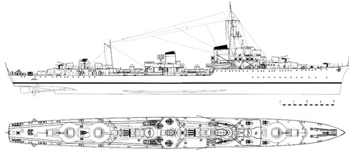 DKM Z20 Karl Galster 1945 (Destroyer)