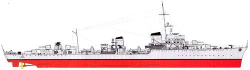 DKM Z21 Wilhelm Heidkamp [Destroyer]